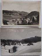 La PESSE (Jura) - Lot De 7 CPSM 1950/60 ;Crêt De Chalâme, Station Piste De Descente, Paysages De Neige,... - France