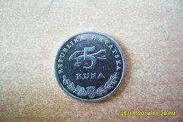 5 Kuna De Croatie 2015 En SUP. (Peut-être En B.E De 2015.?=1000 Exp Voir Site Numista) - Croatia
