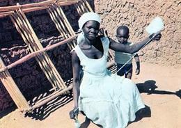 Afrique - BURKINA FASO Haute Volta Une Fileuse - Burkina Faso