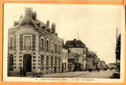CAL970, Saint-Florentin, La Poste, Rue Bedbédère, 16, Circulée Sous Enveloppe - Saint Florentin