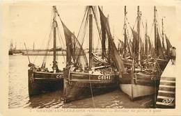 - Calvados -ref-F951- Grandcamp Les Bains - Bateaux De Pêche A Quai - Bateau - Edit. Gaby N°5 - - Francia