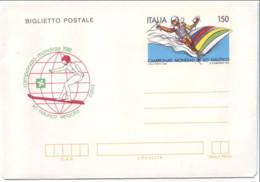 Italia, 1981, Biglietto Postale, Campionati Di Sci Nautico, L. 150, Nuovo - Interi Postali