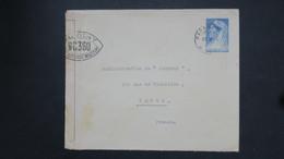Suriname Entier Postal De Paramaribo Avec Censure Controle Postal Militaire Pour Paris , Censored Postal Stationary - Surinam ... - 1975