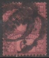 GRANDE -BRETAGNE  1887 __N° 100__ OBL  VOIR SCAN - 1840-1901 (Victoria)