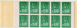 France MNH Booklet With 60c BEQUIET Non-phosphoric Stamps - Markenheftchen
