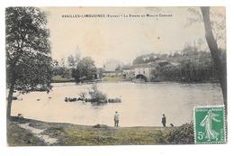 AVAILLES-LIMOUZINE -La Vienne Au Moulin Cordier - Availles Limouzine