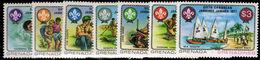 Grenada Grenadines 1977 Scout Jubilee Unmounted Mint. - Grenada (1974-...)