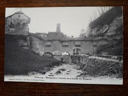L17/185 Suisse. Fribourg. Remparts à L'entrée De La Vallée Du Gotteron - FR Fribourg