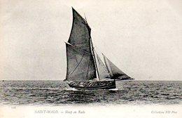 Sloop (bateau De Pêche) En Rade De Saint Malo (35) - Pêche