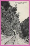 CHINE Chemins De Fer Du YUNNAN Kilometre 327,900  Ligne Ferroviaire Voie Ferrée - Chine