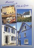 56 Maisons à L'Ile De Groix Divers Aspects (2 Scans) - France