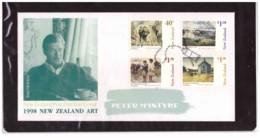 NZFDC199  -  WANGANUI  24.6.1998    /    FDC   Y.&T. Nr.  1620/1623  ( A.C.S. CAT. Nr.  1490/1493  ) - Arte