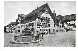 B/W VIEW OF ARTH, SCHWYZ, SWITZERLAND. - SZ Schwyz