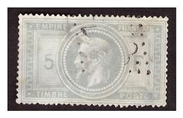 Timbre N° 33 OBL  Quelques Légers Clairs - 1863-1870 Napoléon III Lauré
