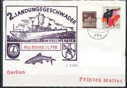 Schiffpost  BRD   2. Landungsgeschwader Mzl Renke -L798 - Militaria