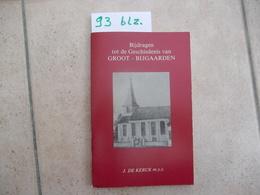 Boek Groot Bijgaarden - Livres, BD, Revues