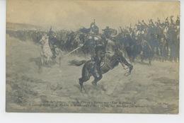 """GUERRE 1870 - TABLEAUX - SALON DE 1906 -Avant La Charge """"Suivez-moi ! Vive La France !"""", Le Colonel GUIOT DE LA ROCHERE - Other Wars"""