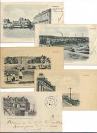 DEAUVILLE/ TROUVILLE -  Lot De 15 Cartes Anciennes Pionnières - Deauville