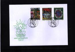 Liechtenstein 2000 Environment Protection FDC - Umweltschutz Und Klima