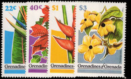 Grenada Grenadines 1979 Flowers Unmounted Mint. - Grenada (1974-...)