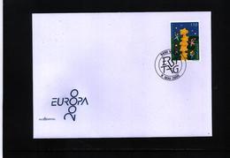Liechtenstein 2000 Europa Cept FDC - Umweltschutz Und Klima