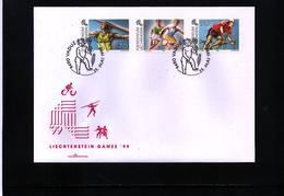 Liechtenstein 1999 Sport FDC - Radsport