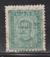 PORTUGAL Scott # 71a Used - Used Stamps
