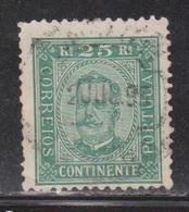 PORTUGAL Scott # 71a Used - 1862-1884 : D.Luiz I
