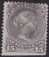 Canada  .   Scott  .     30i    .   12x12   .     O    .    Cancelled     .   /    .   Gebruikt - 1851-1902 Reign Of Victoria