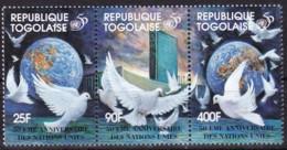 Togo, 1995, 2268/70, 50 Jahre Vereinten Nationen (UNO). MNH ** - Togo (1960-...)