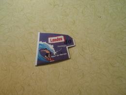 Magnet Le Gaulois Bord Blanc: Landes 40 - Magnets