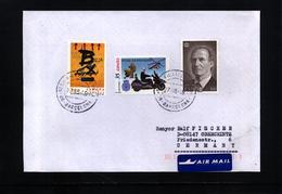 Spain 1999 Interesting Airmail Letter - 1931-Heute: 2. Rep. - ... Juan Carlos I
