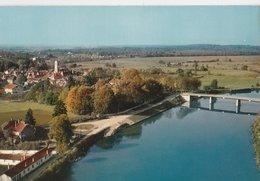 PONTAILLER-SUR-SAÔNE (21). Vue Aérienne Sur Le Beau Site De Pontailler - Autres Communes
