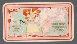 Carte Parfumée  SAUZE Frères : JOLI MAI  (PPP17232) - Antiguas (hasta 1960)