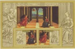 ** 2005 VATICANO MUSEI VATIVANI / LOUVRE / RAFFAELLO ART PICTURES Joint Isseu France  SHEET MNH - Vaticaanstad