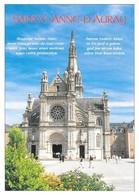 56 Saint Anne D'Auray Façade Ouest De La Basilique (2 Scans) - Sainte Anne D'Auray