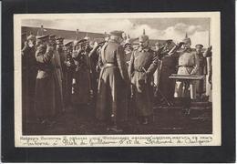 CPA Serbie Serbia écrite Kaiser Ferdinand De Bulgarie NIS NISH - Serbia