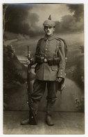 Soldat Aus Freiburg, Pickelhaube, Gewehr,   Echtfoto - War 1914-18