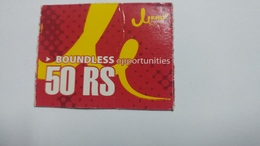 Nepal-JERO Mobile-boundless Opportunities-(rs.50)-(15)-(5233093280537)-(not Date Out Side)-used Card - Nepal