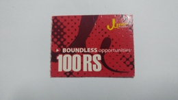 Nepal-JERO Mobile-boundless Opportunities-(rs.100)-(16)-(3413951325752)-(not Date Out Side)-used Card - Nepal