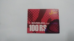 Nepal-JERO Mobile-boundless Opportunities-(rs.100)-(17)-(8026913648416)-(not Date Out Side)-used Card - Nepal