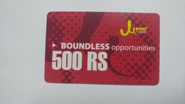 Nepal-JERO Mobile-boundless Opportunities-(rs.500)-(18)-(8019587370460)-(not Date Out Side)-used Card - Nepal
