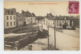 SEIGNELAY - La Place Et La Route D'Auxerre - Seignelay