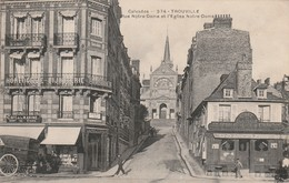 14 Trouville. Rue Notre Dame Et L'eglise - Trouville