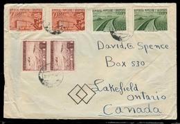 ALBANIA. 1957. Tirana - Canada. Multifkd Env. - Albania
