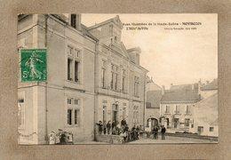 CPA - MONTBOZON (70) - Aspect Des écoliers Sur L'escalier De La Mairie-Ecole En 1907 - Frankreich