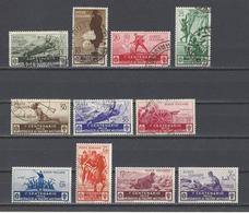 ITALIE. YT  N° 346/356  Obl/neuf *  1934 - Oblitérés