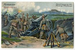 Maubeuge, Artillerie - Guerre 1914-18