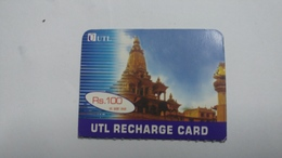 Nepal-UTL Customer-(rs.100)-(20)-(10738424826324)-(not Date Out Side)-used Card - Nepal