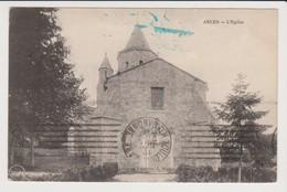 ARCES (Charente Maritime) Lot De 2 Cartes  L'église Et Vue Générale. - France